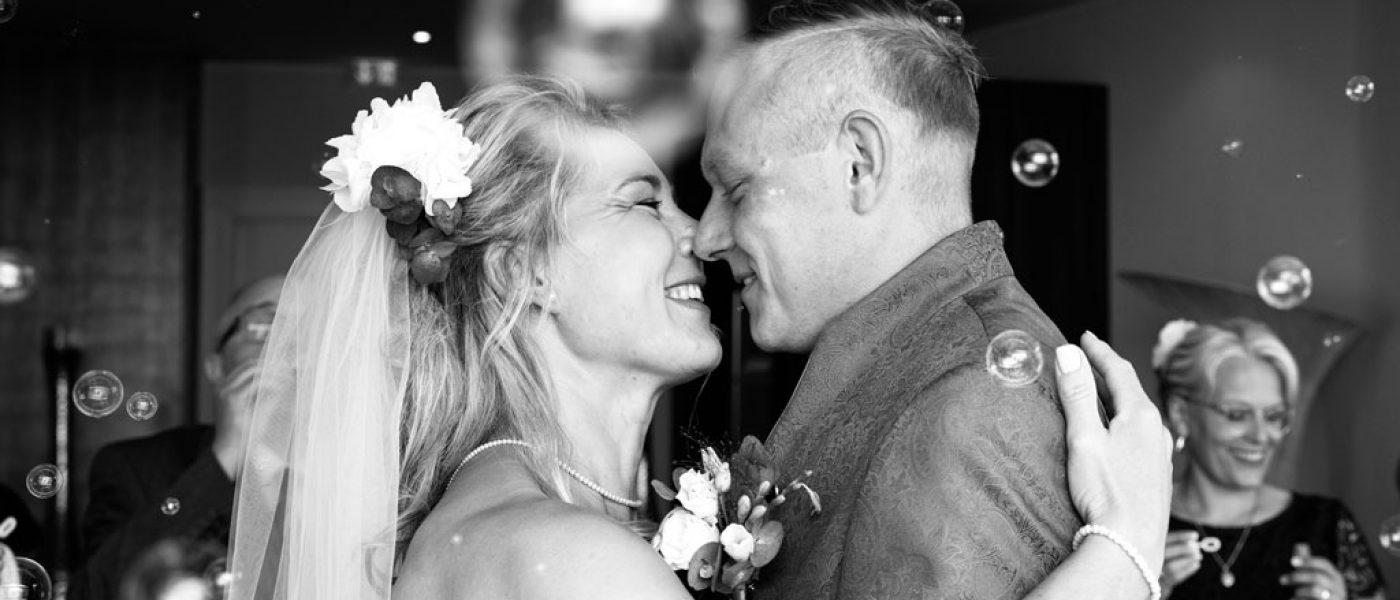 Erster Tanz als Ehepaar